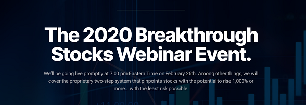 The 2020 Breakthrough Stocks Summit