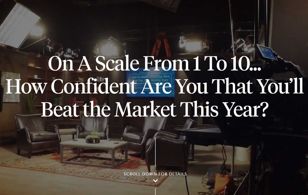 Stansberry Research No.1 Prediction for This Year: How To Beat the Market This Year