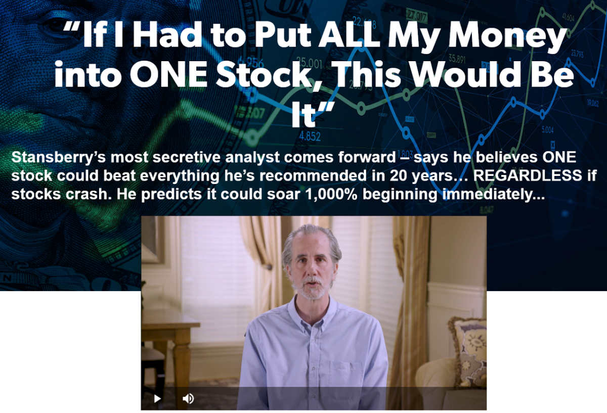 Dan Ferris No. 1 Stock Pick of All-Time: Extreme Value Research