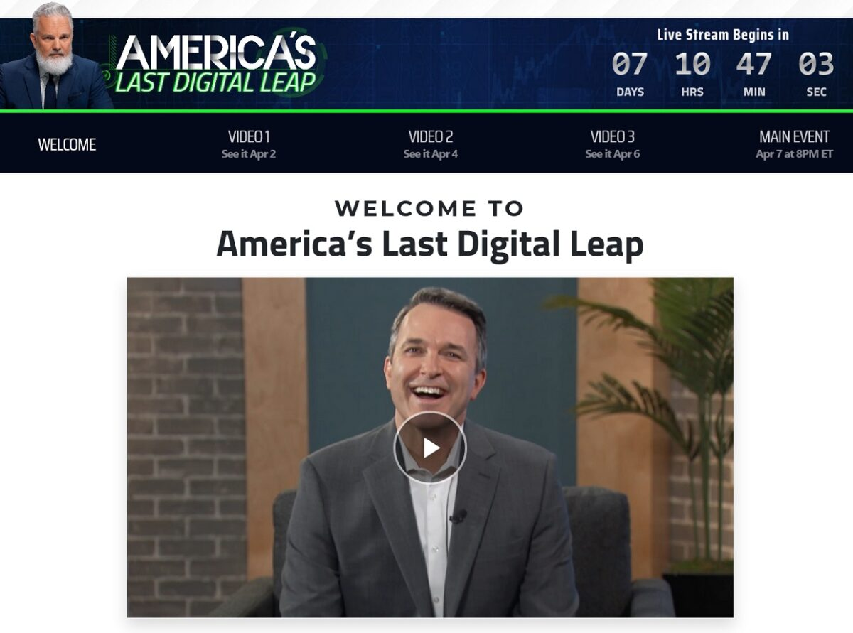 Jeff Brown's America's Last Digital Leap Review
