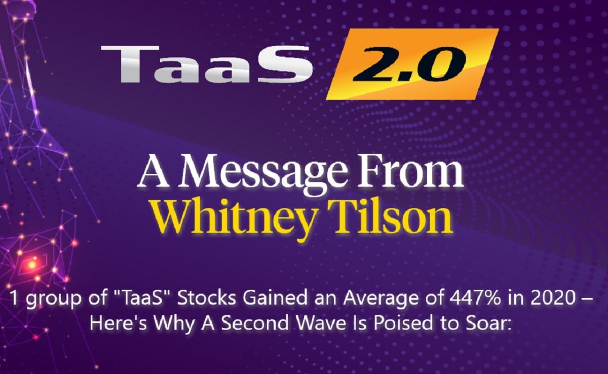 "What's Whitney Tilson's ""TaaS"" Stock (2021) – ""TaaS 2.0"" Event"