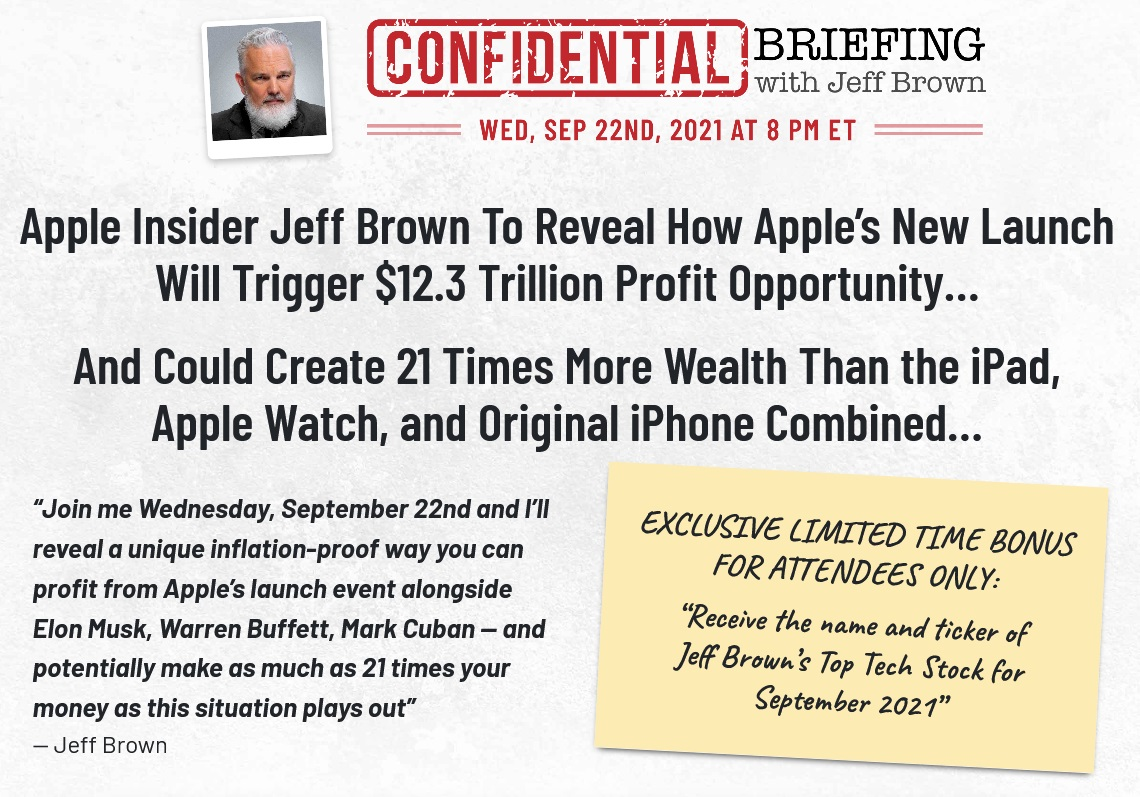 The Confidential Briefing with Jeff Brown